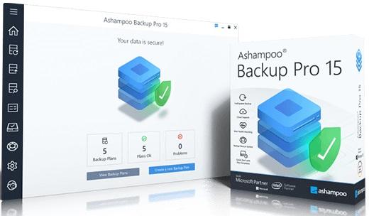 Ashampoo Backup Pro 15.03 Crack + Serial Key [Latest]
